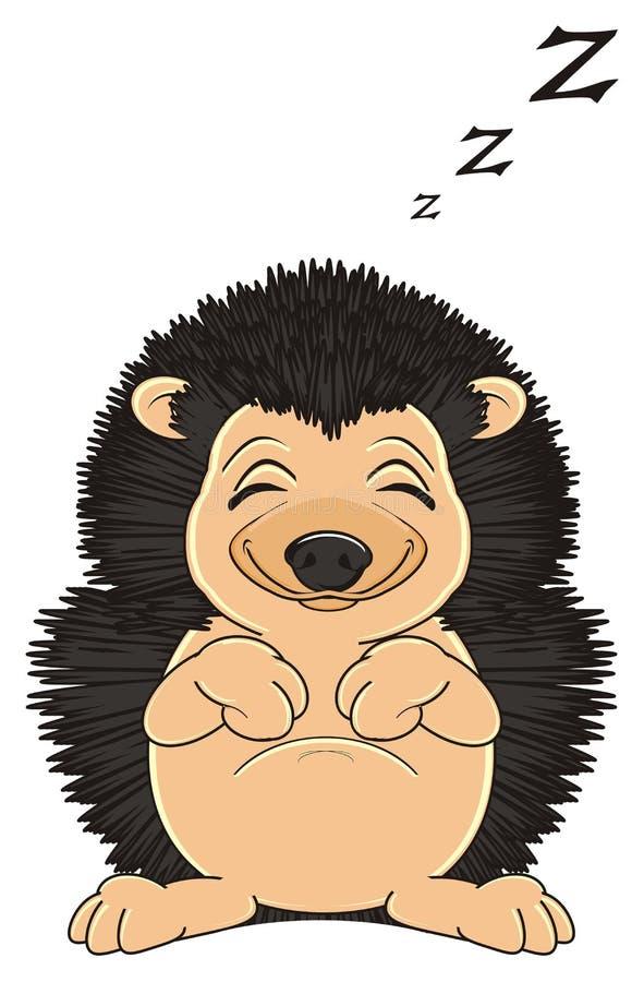 Schlafenigeles mit Buchstaben z lizenzfreie abbildung