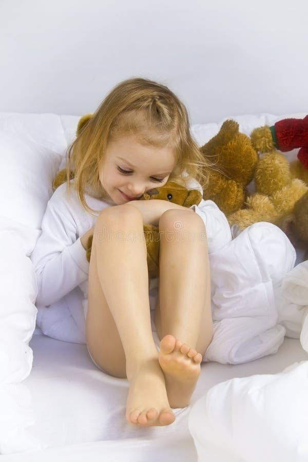 Schlafenszeit lizenzfreie stockfotos