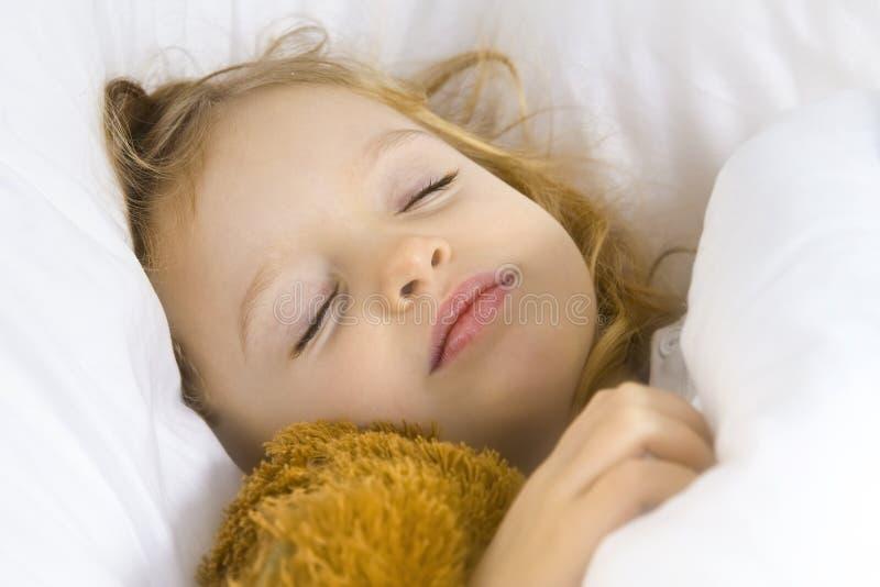 Schlafenszeit lizenzfreies stockbild