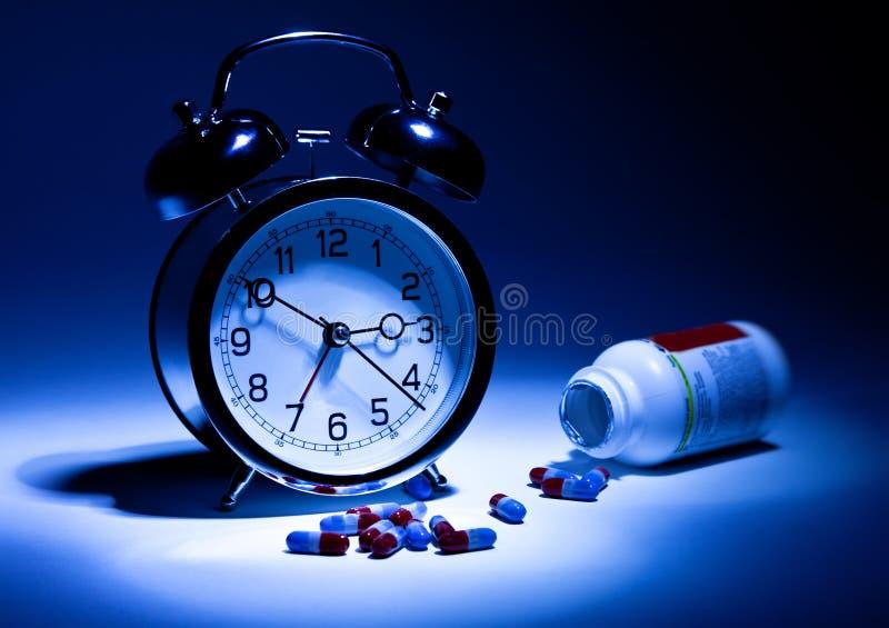 Schlaflosigkeit stockfotos