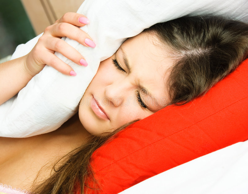 Schlaflosigkeit lizenzfreies stockfoto