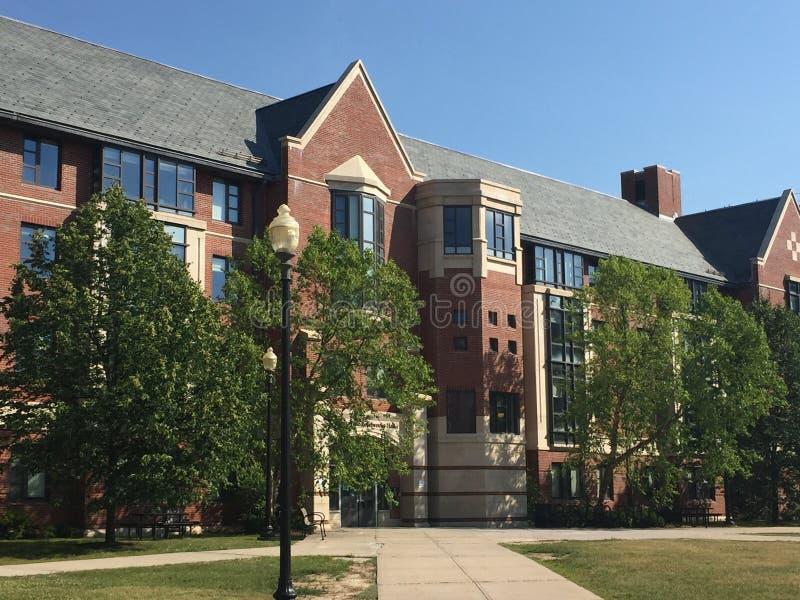 Schlafsäle an der Universität von Connecticut ( UConn) in Storrs lizenzfreie stockfotos