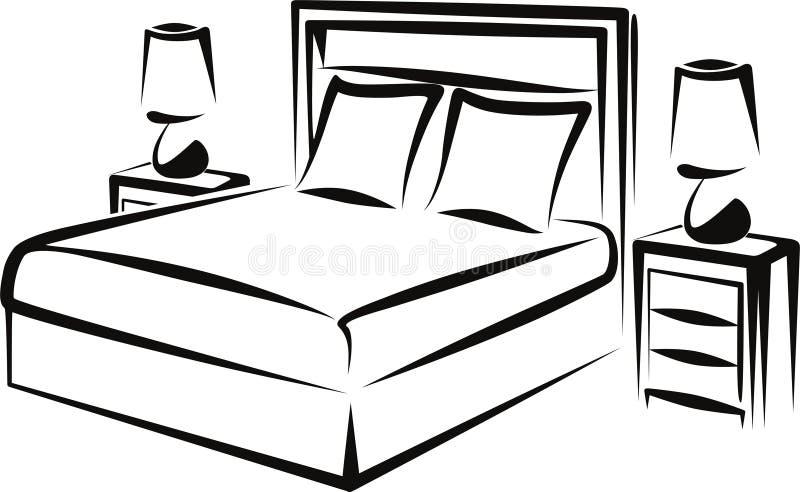 Download Schlafzimmer Vektor Abbildung Illustration Von Innen