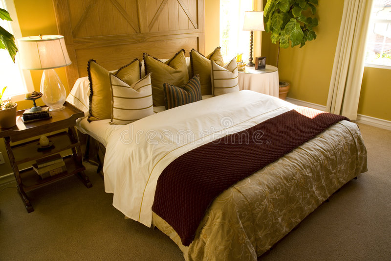 Schlafzimmer 1801 Stockbilder
