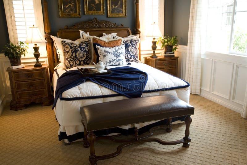 Schlafzimmer 2418 lizenzfreie stockfotos