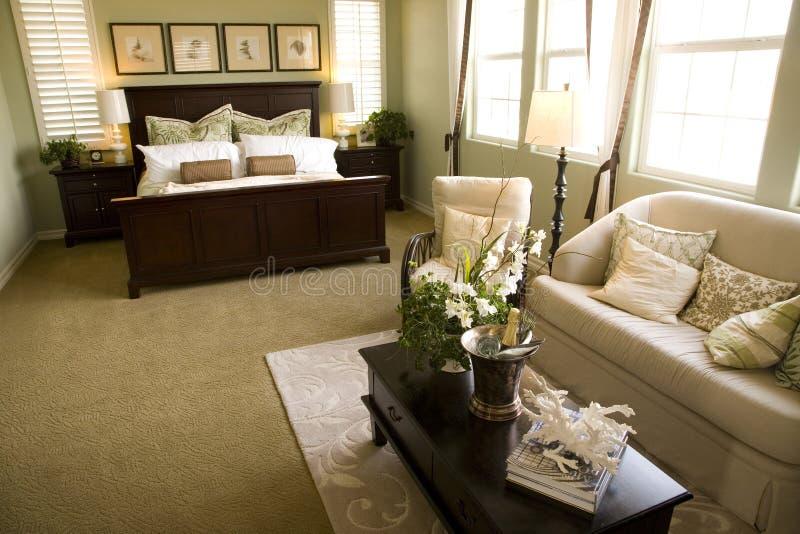Schlafzimmer 2473 lizenzfreies stockbild