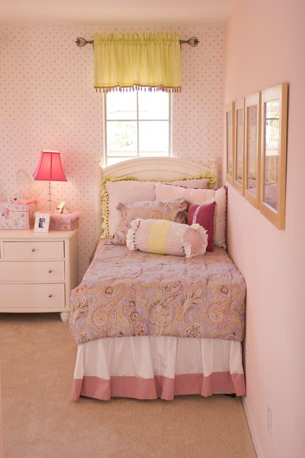 Schlafzimmer der Kinder stockfotografie
