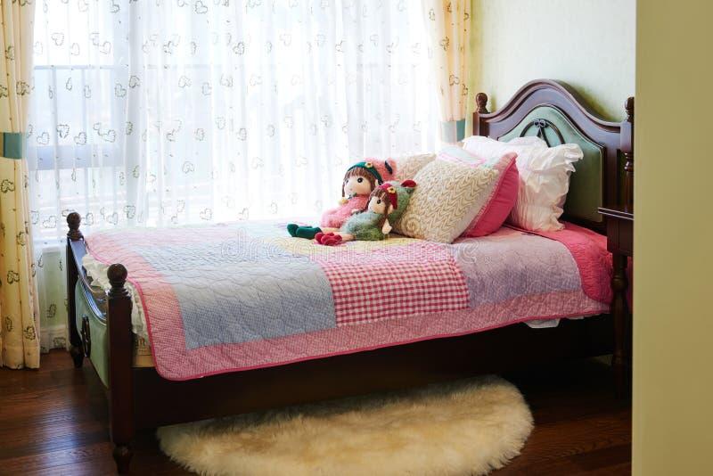 Schlafzimmer der Kinder lizenzfreie stockfotos