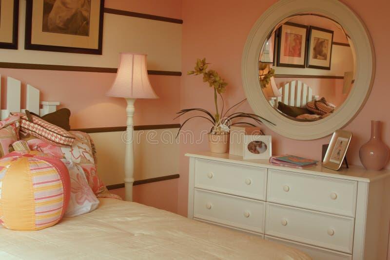 Schlafzimmer des Kindes stockbilder