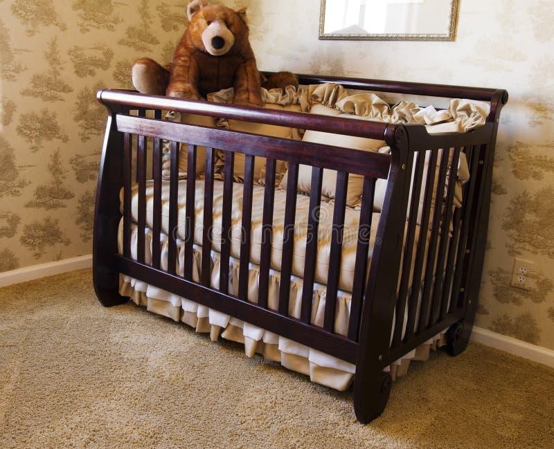 Schlafzimmer des Schätzchens lizenzfreie stockbilder