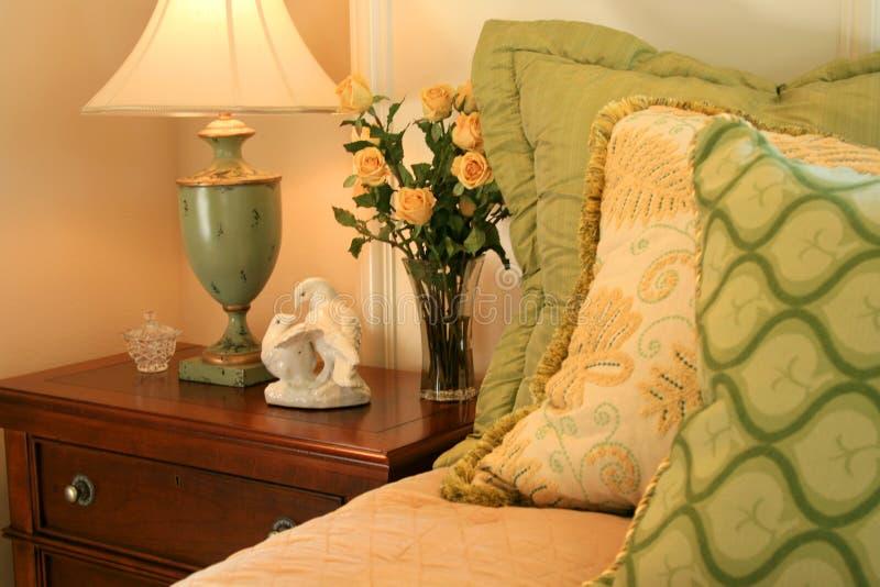 Schlafzimmer-Ecke stockfotos
