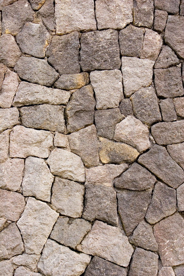 Schlagen Sie oben Felsen-Wand lizenzfreies stockbild