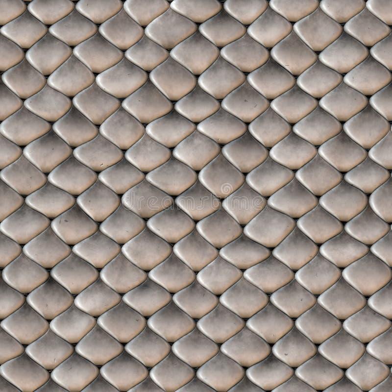 Schlange-Haut stuft nahtlose Beschaffenheit ein stock abbildung