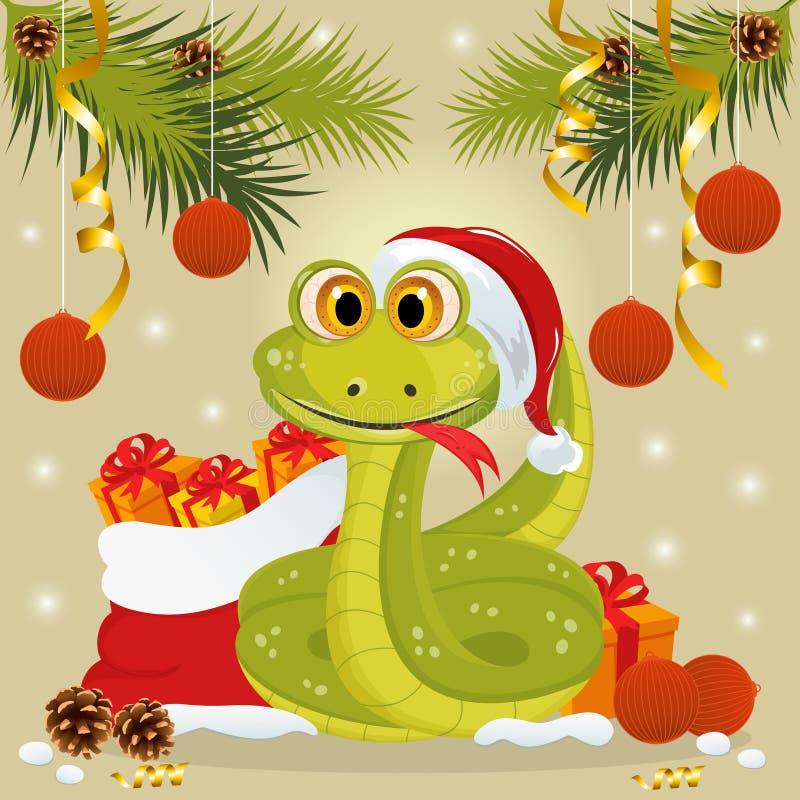 Download Schlangesymbol Von 2013 Jahr Vektor Abbildung - Illustration von weihnachten, kunst: 27730976