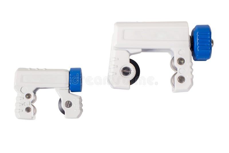 Schlauchschneider für das Plombieren und HVAC stockbild