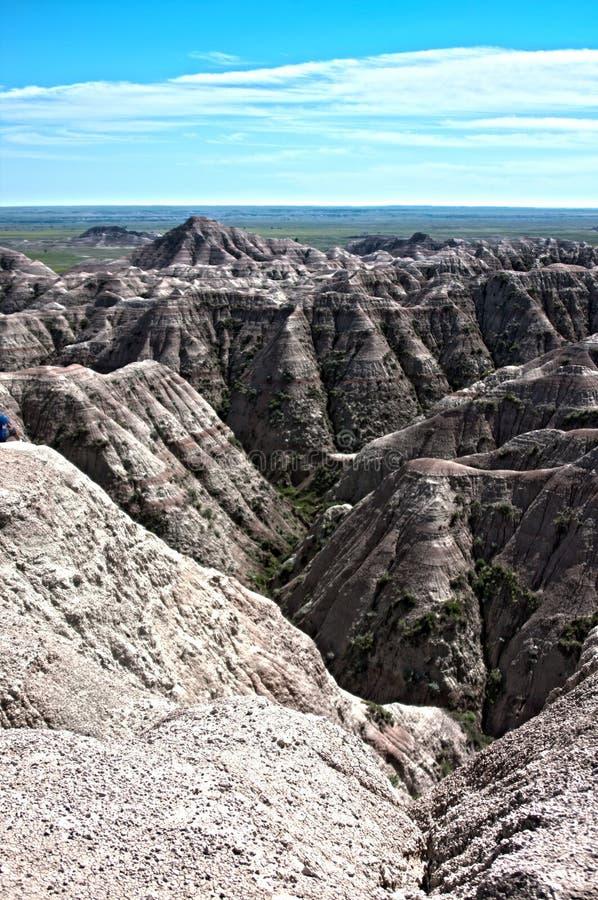 Schlechte Länder, South Dakota lizenzfreie stockfotos