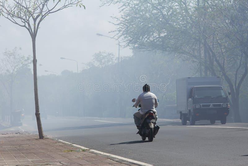 Schlechte Verschmutzung lizenzfreie stockfotografie