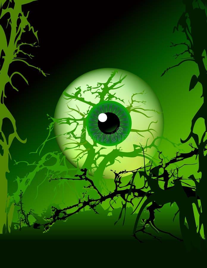 Schlechtes Auge stock abbildung