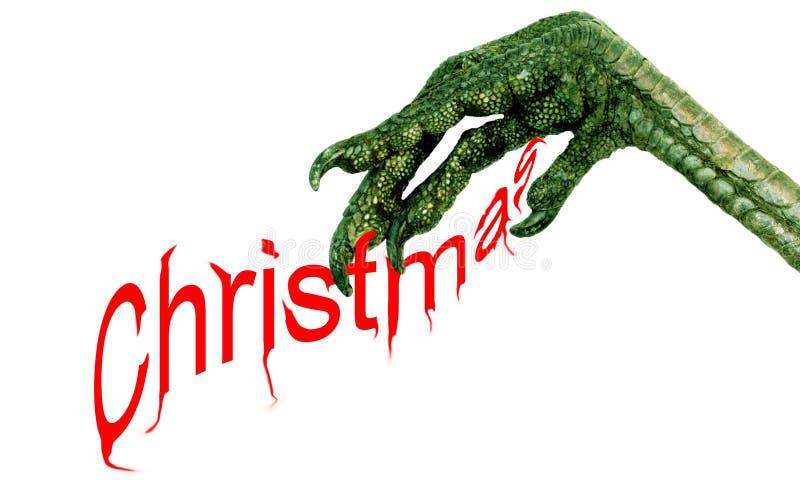 Schlechtes Weihnachten lizenzfreie abbildung
