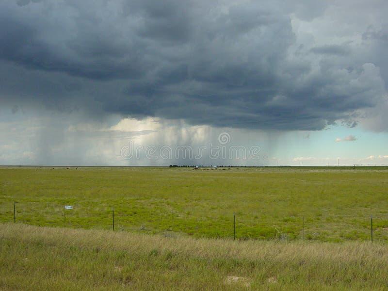 Schleier des Regens lizenzfreies stockbild