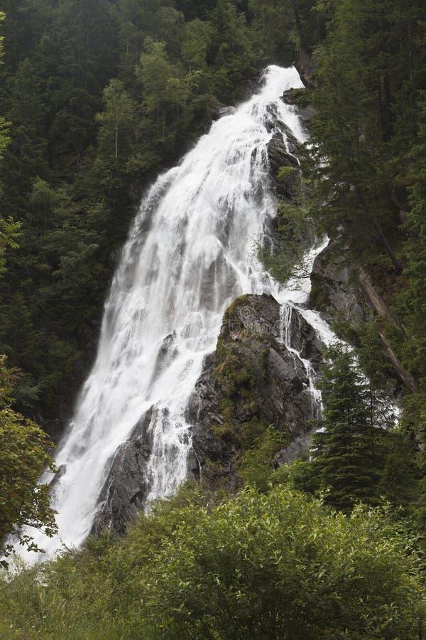 Schleierfall in High Tauern National Park, Austria royalty free stock photos