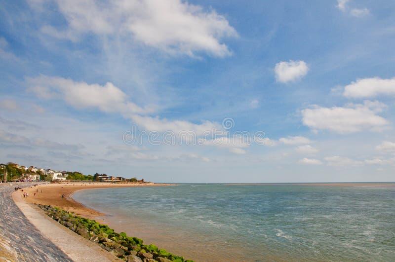 Schleife der Devon-Küste lizenzfreie stockfotografie