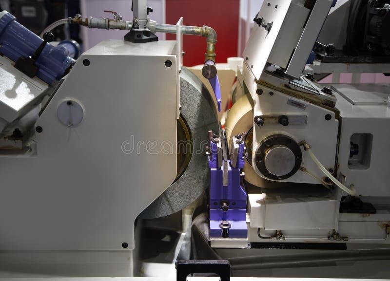 Schleifmaschine Centerless lizenzfreies stockfoto