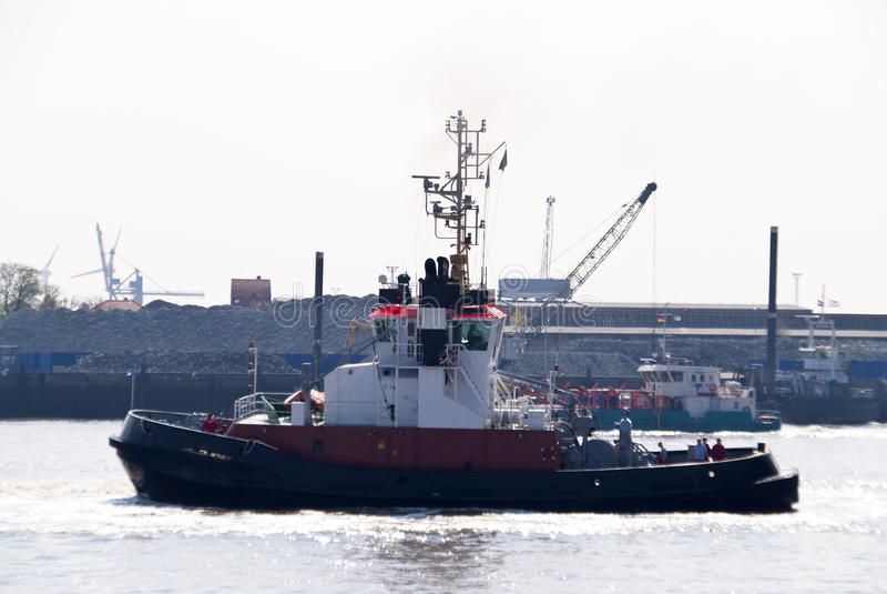 Schlepperboot stockfoto