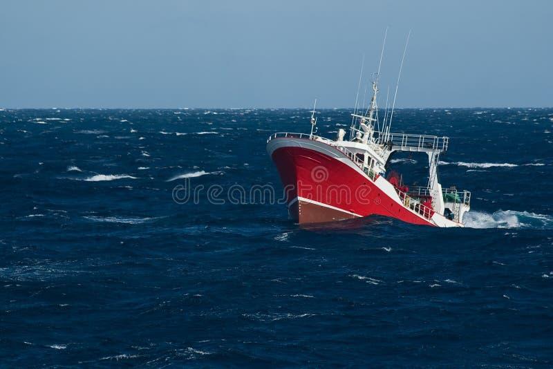 Schleppnetz-Fischen lizenzfreies stockfoto