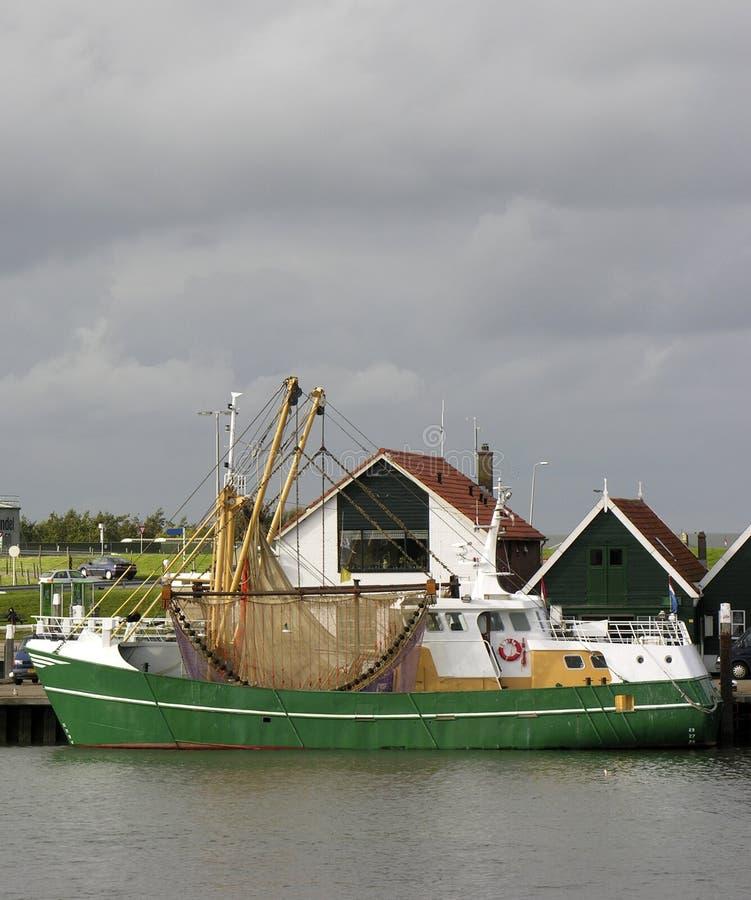 Schleppnetzfischer lizenzfreies stockbild