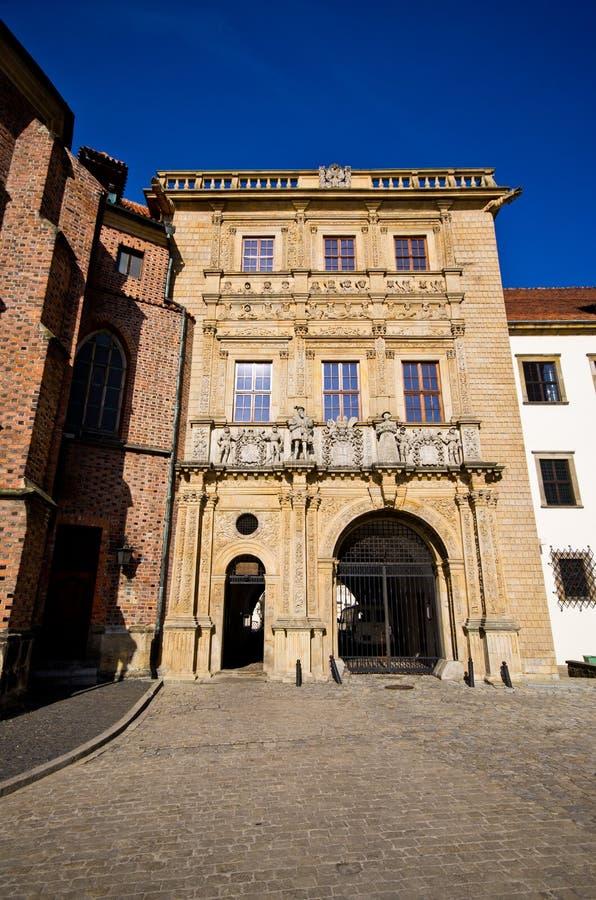 Schlesisches Piast-Dynastien-Schloss in Brzeg, Polen lizenzfreie stockfotografie
