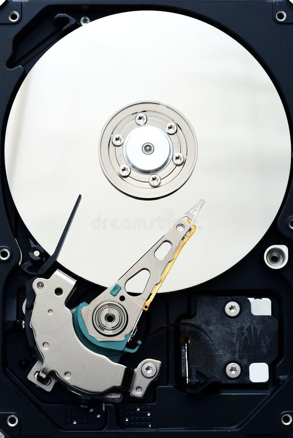Schließen Computer sata Festplattenlaufwerk internals oben stockfoto