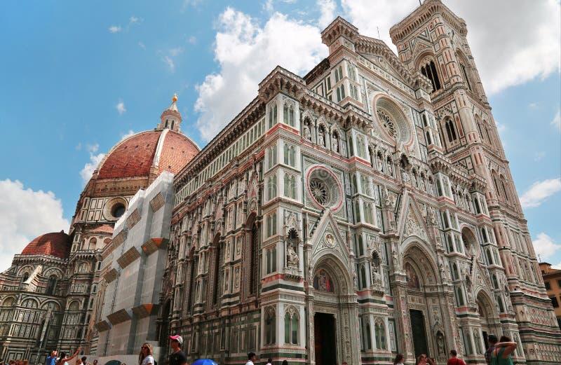 Schließen Sie herauf Ansicht von Duomo Santa Maria Del Fiore in Florenz, Toskaneres stockfoto
