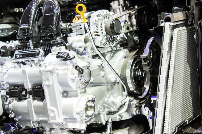 Schließen Sie Herauf Automotor- Und Gangteile Von Automobil ...