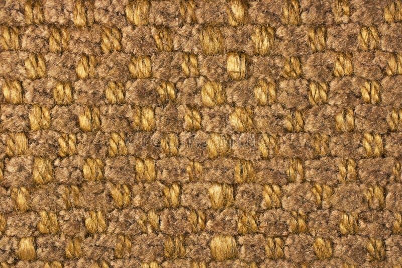 Schließen Sie herauf gesponnenen Textilhintergrund stockbilder