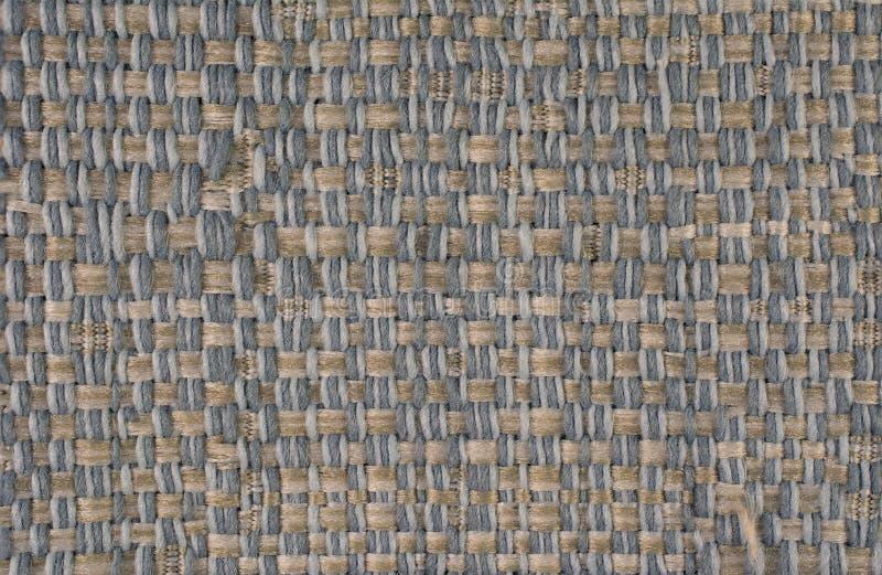 Schließen Sie herauf gesponnenen Textilhintergrund stockfoto
