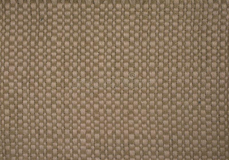 Schließen Sie herauf gesponnenen Textilhintergrund stockfotografie