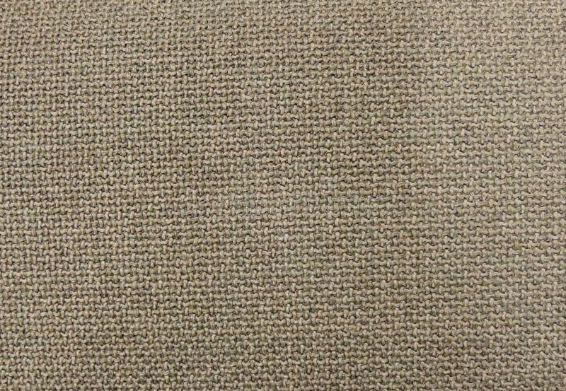 Schließen Sie herauf Hintergrund-Muster der Brown-Textilbeschaffenheit stockfotografie