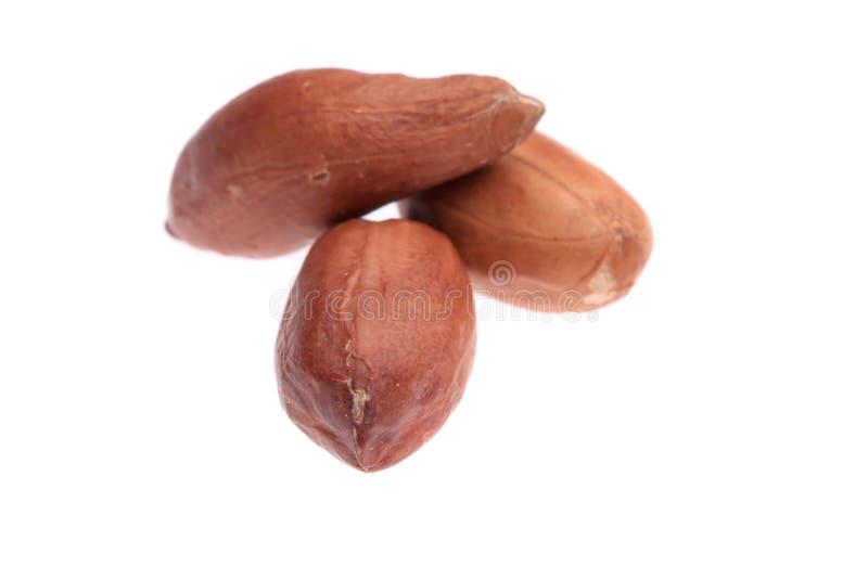 Schließen Sie oben vom Erdnussstapel. stockfotos