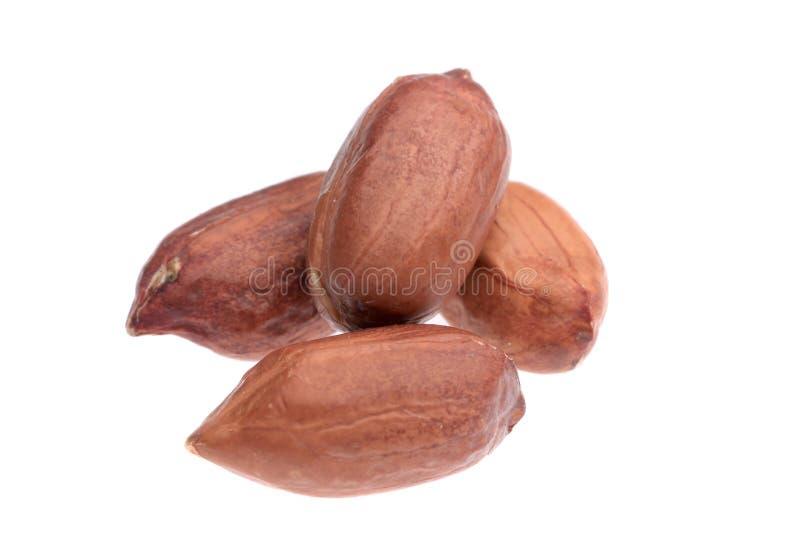 Schließen Sie oben vom Erdnussstapel. lizenzfreies stockbild