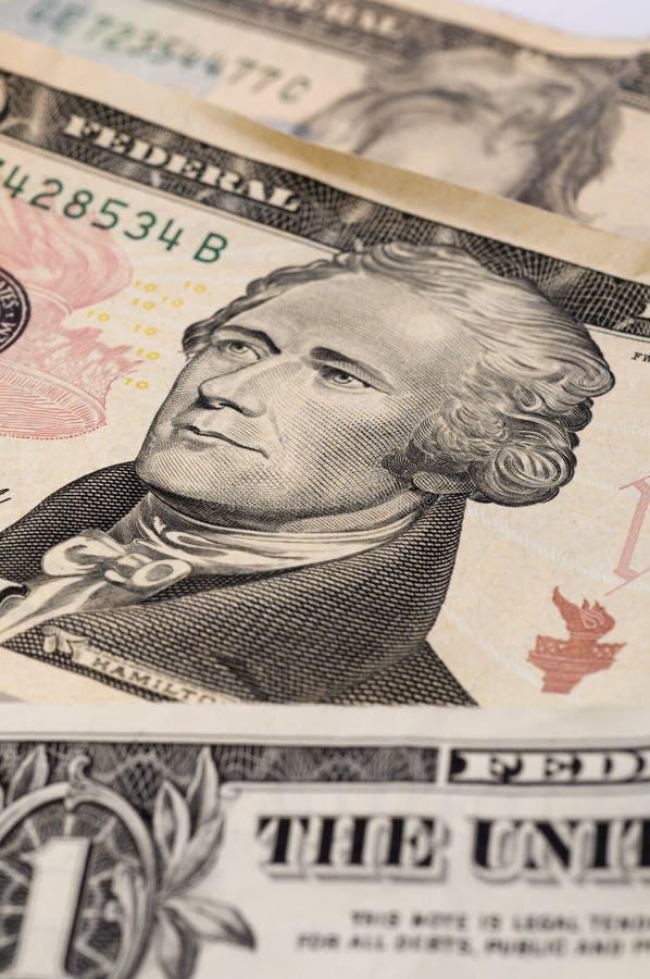Schließen Sie oben vom Geld lizenzfreies stockfoto