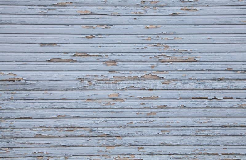 Schließen Sie oben vom hölzernen blauen schäbigen schicken Hintergrund des Schmutzes lizenzfreie stockbilder