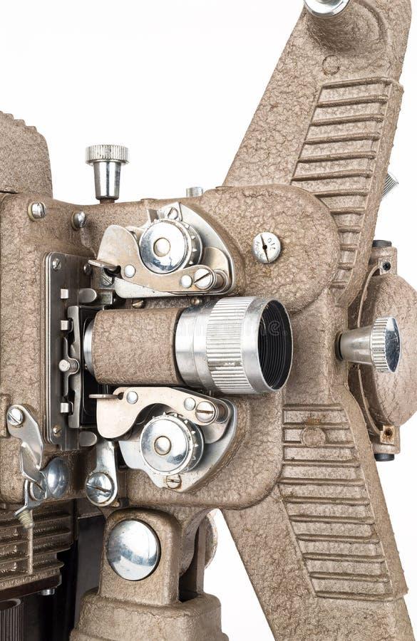 Schließen Sie oben vom 8mm Film-Projektor stockbild
