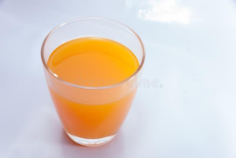 Schließen Sie oben vom Orangensaft lizenzfreie stockfotografie