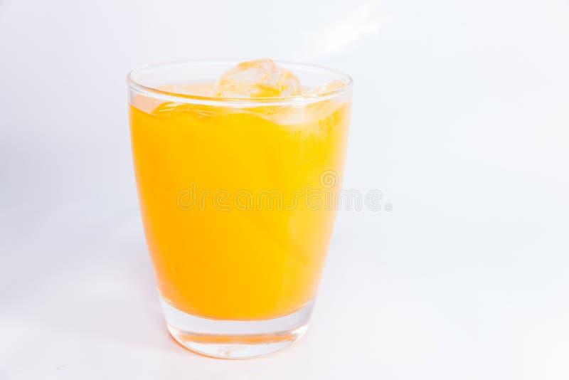 Schließen Sie oben vom Orangensaft stockfotos