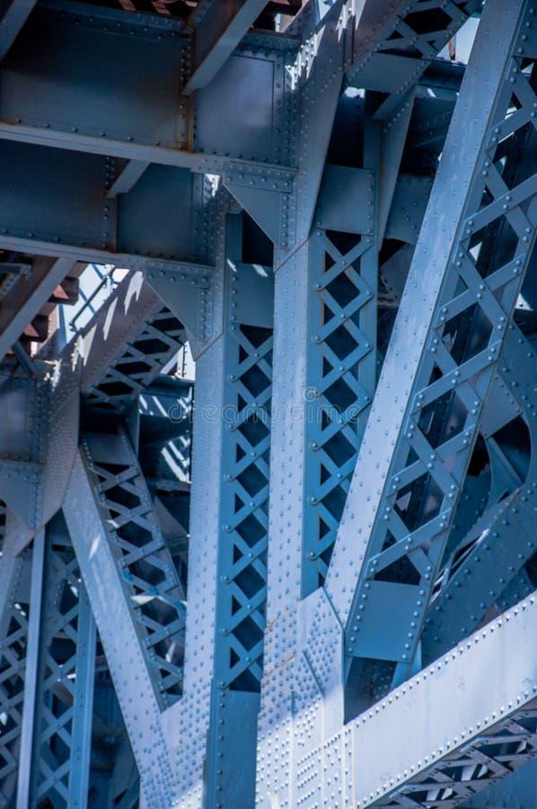 Schließen Sie oben von Benjamin Franklin Bridge lizenzfreie stockfotos