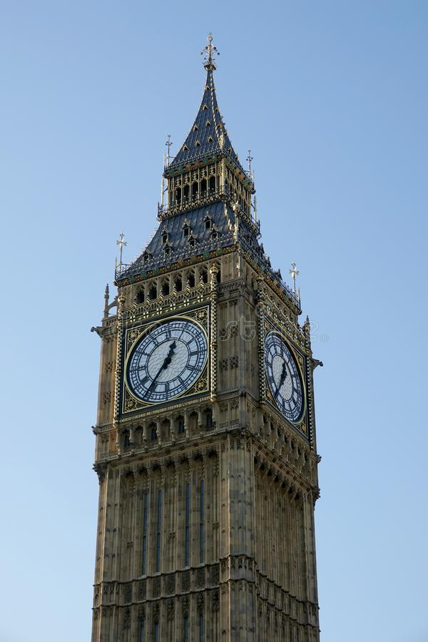 Schließen Sie oben von Big Ben stockfotografie