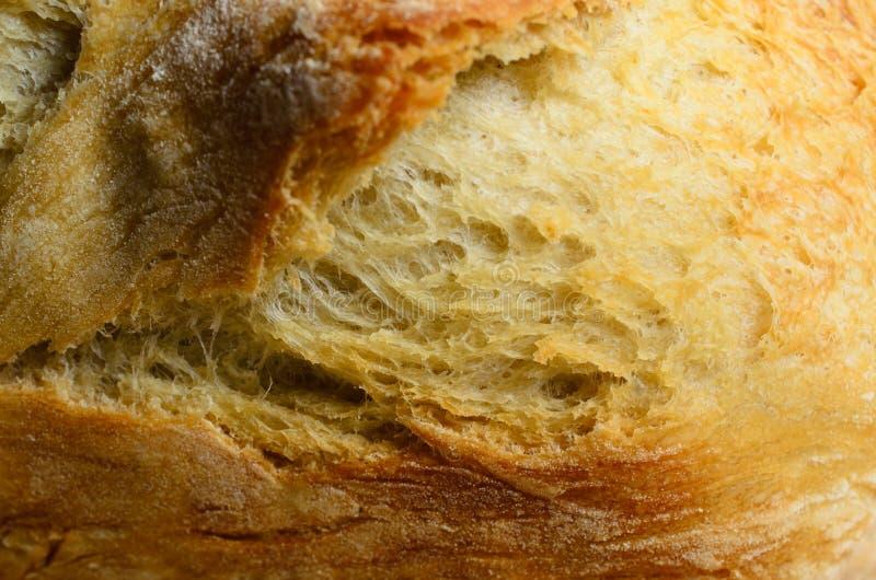 Schließen Sie oben von der Brot-Laib-Kruste stockbilder
