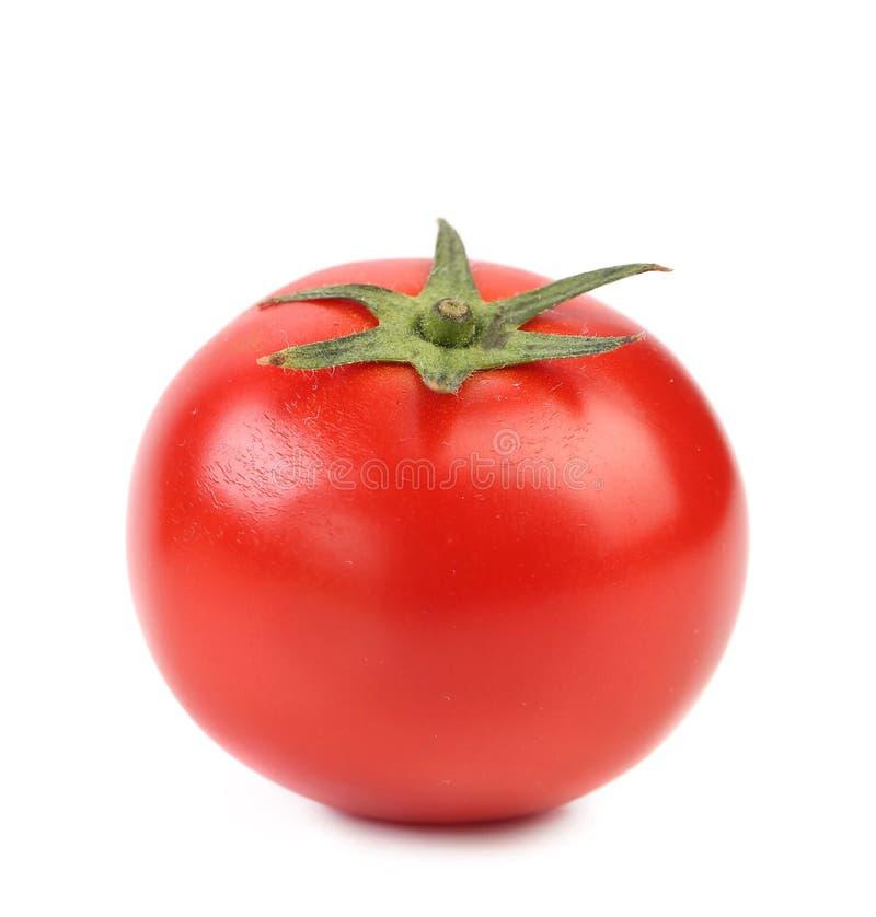 Schließen Sie oben von der frischen Tomate. stockfoto