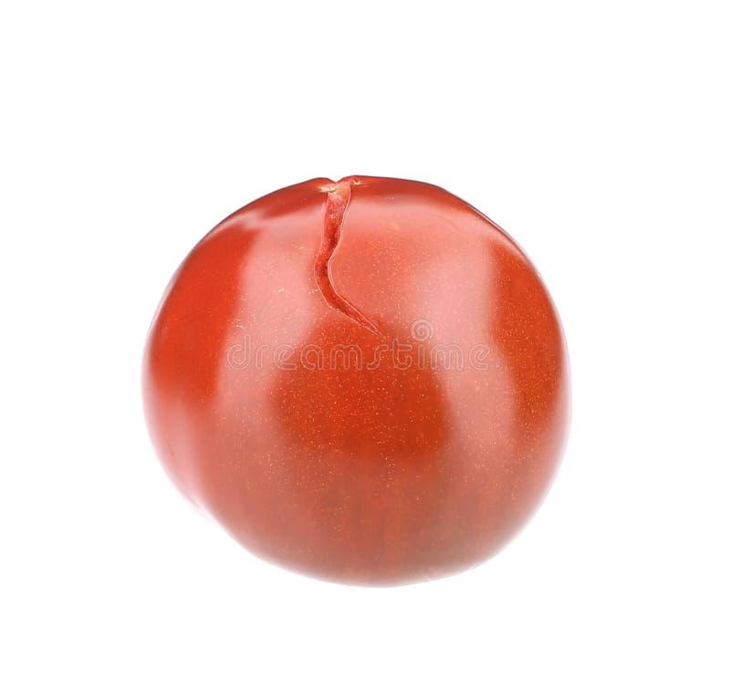 Schließen Sie oben von der frischen Tomate stockfoto